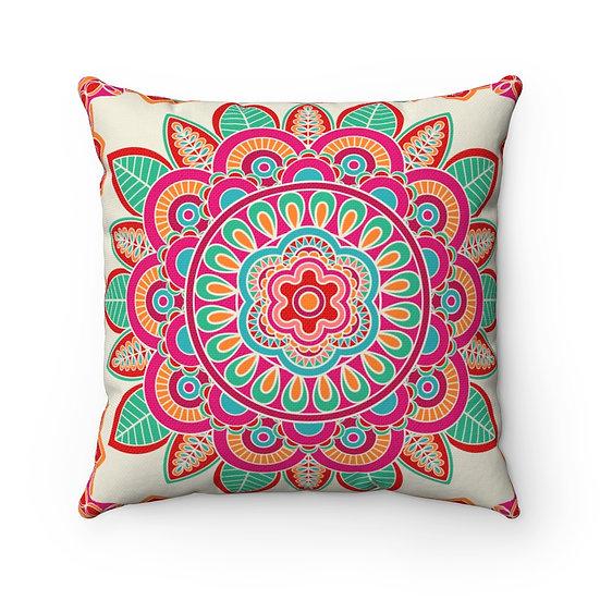 Barcelona Spun Polyester Square Pillow