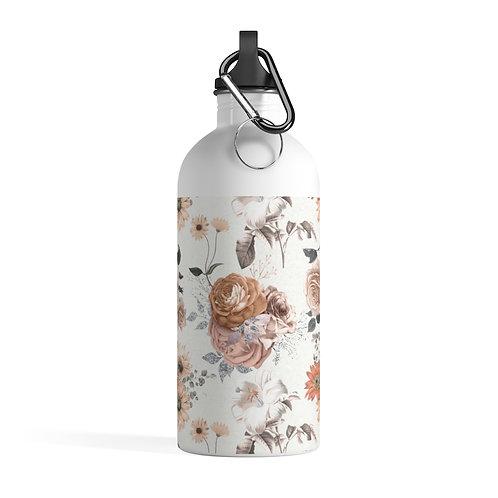 Autumn Garden Stainless Steel Water Bottle