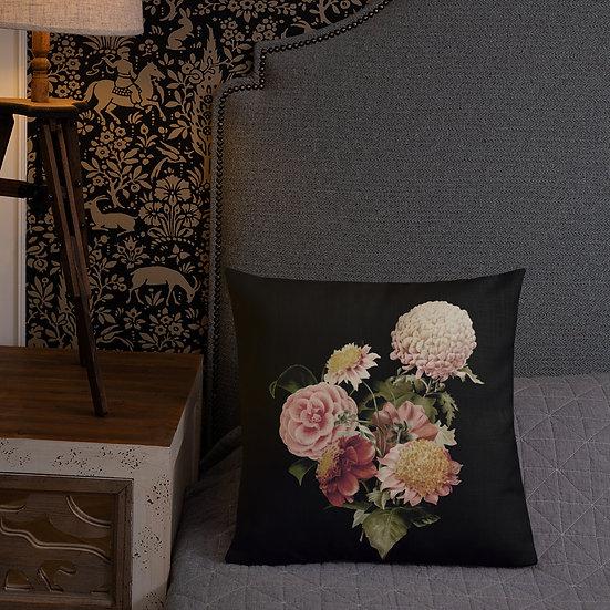 Old Fashioned Bouquet Premium Pillow
