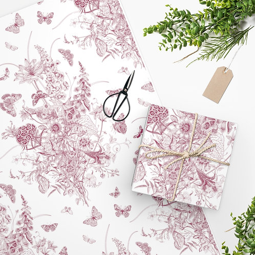 Delicate Pink Regal Wrapping Paper