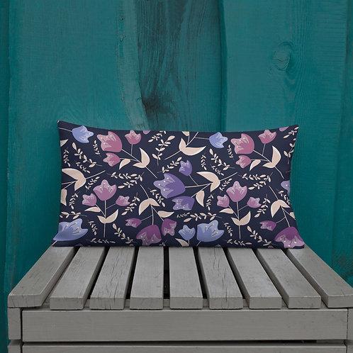 Midnight Garden Premium Pillow