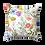 Thumbnail: Mellie 2 Spun Polyester Square Pillow