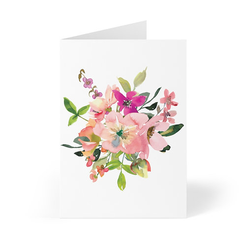 Bouquet 2 Greeting Cards (8 pcs)