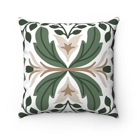 Celtic Decor #2 Spun Polyester Square Pillow