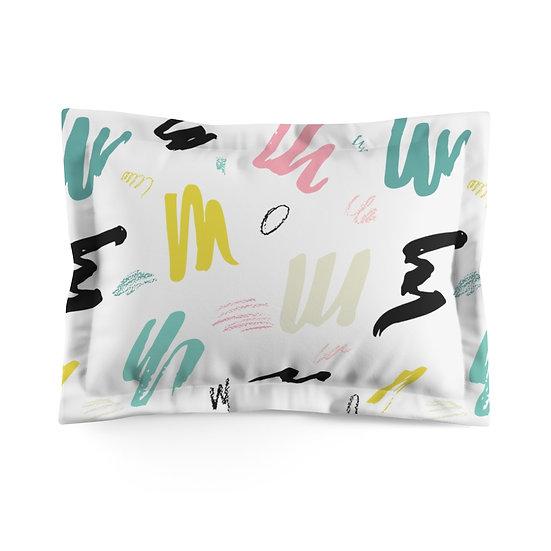 Abstract 1 Microfiber Pillow Sham