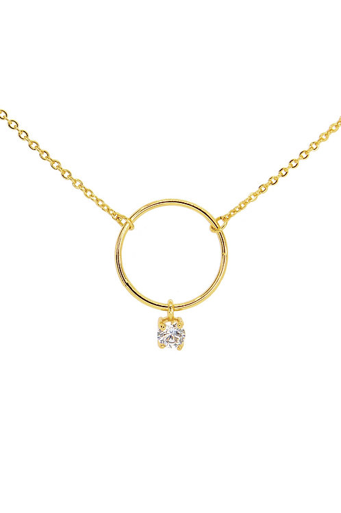 Halo - Gold Necklace