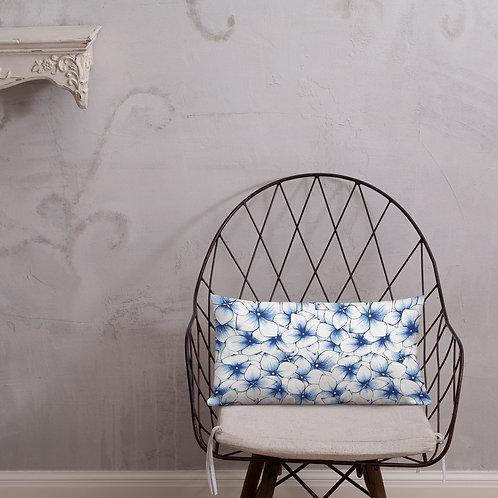 Blue Garden Premium Pillow