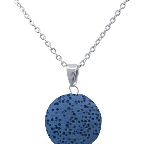 Blue Lava Stone Essential Oil Necklace