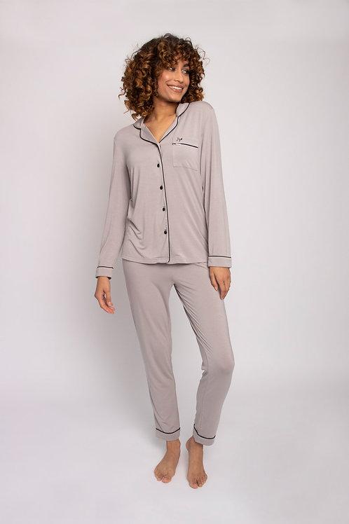 Bamboo Pajama Set in Mink