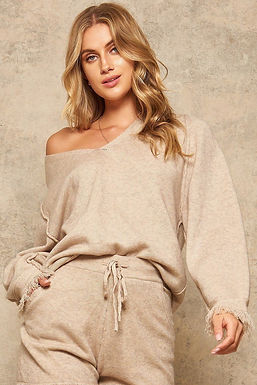A Solid Knit Sweater