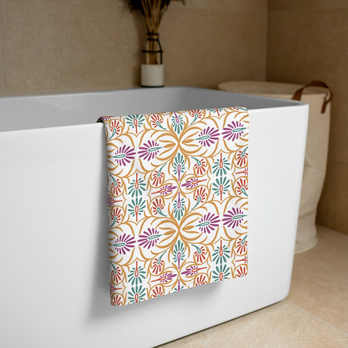 Indian Design #3 Towel