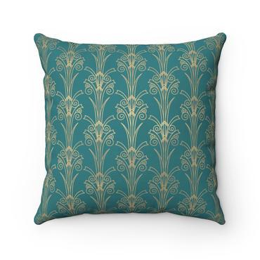 gold-art-deco-tulipblue-stone-spun-polye