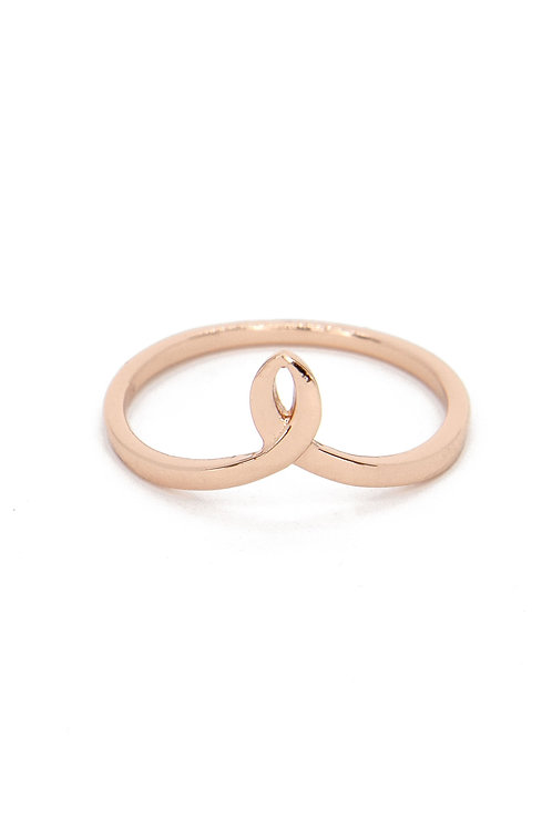 Parsons - Rose Gold Vermeil Ring
