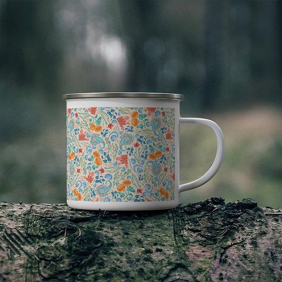 Dayla Enamel Camping Mug