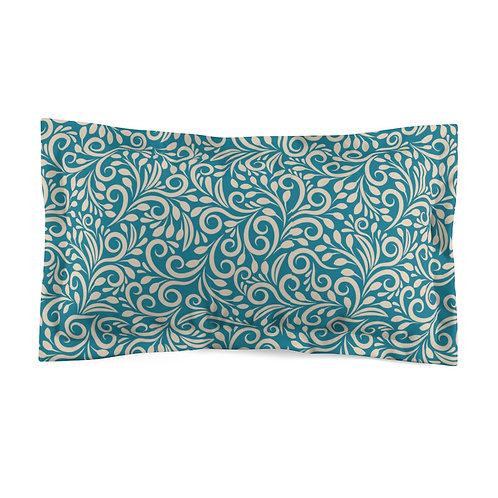 Emerald Microfiber Pillow Sham