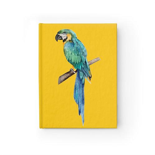 Beautiful Parrot Journal - Blank