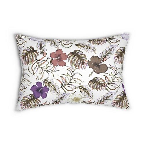 Melodia Spun Polyester Lumbar Pillow