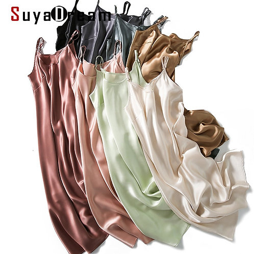 100% Silk Slip Dress (Lingerie)