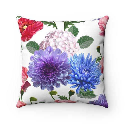Bella Garden Spun Polyester Square Pillow