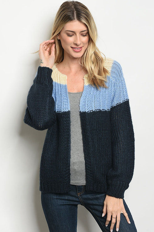 Blue Navy Sweater