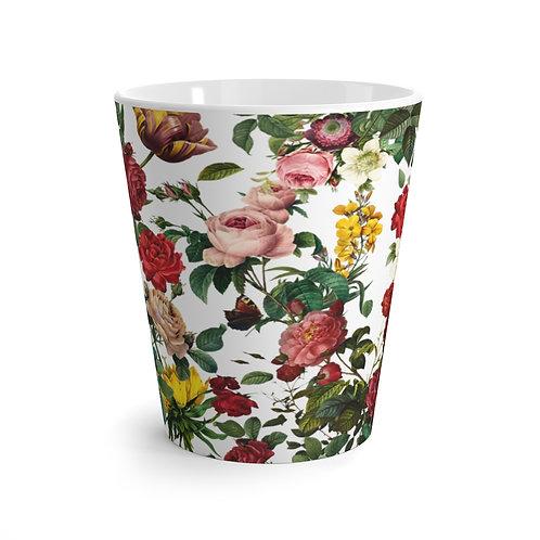 Old English Garden Latte Mug