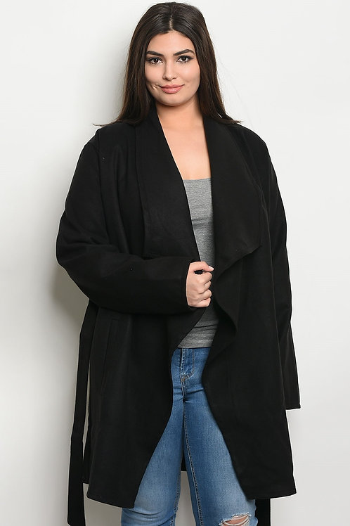 Black Plus Size Jacket