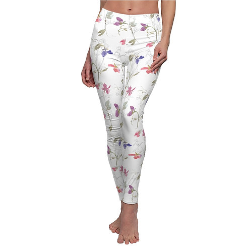 Toscana Delicate Floral Casual Leggings