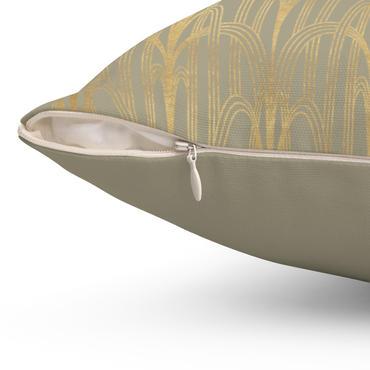 gold-art-decochicago-spun-polyester-squa