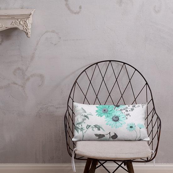 Ocean Garden Premium Pillow
