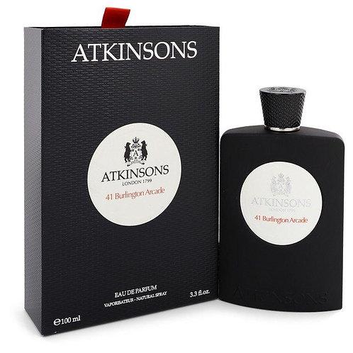 41 Burlington Arcade Eau De Parfum Spray (Unisex) By Atkinsons