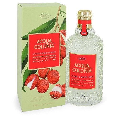 4711 Acqua Colonia Lychee & White Mint Eau De Cologne Spray (unisex)