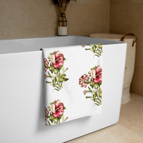 Dianthus 2 Floral Towel copy