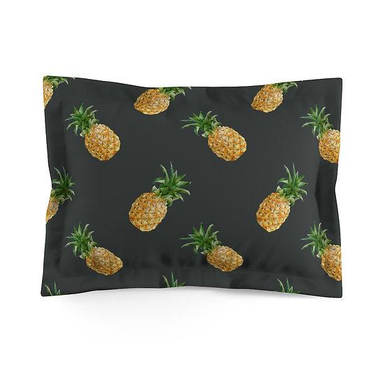Pineapple Life Microfiber Pillow Sham