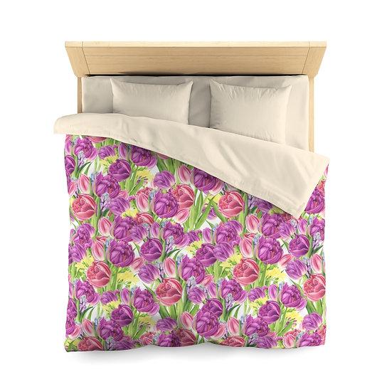 Lavender Microfiber Duvet Cover
