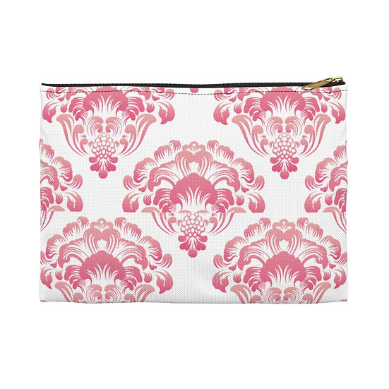 Classic Pink Accessory Pouch