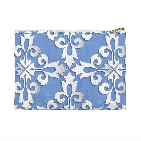 Blue FiligAccessory Pouch