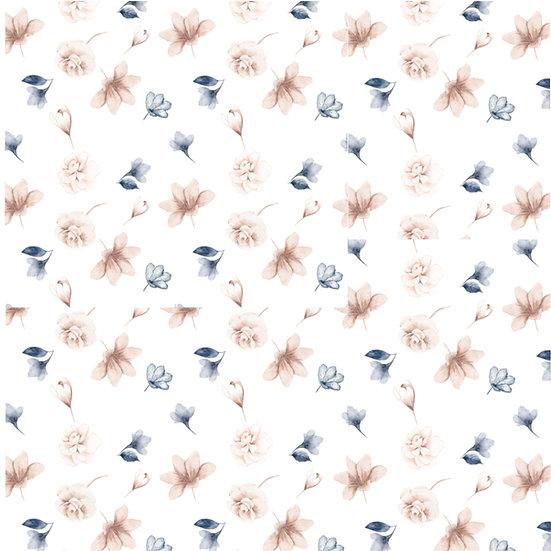 Blush Rose Collection Microfiber Duvet Cover