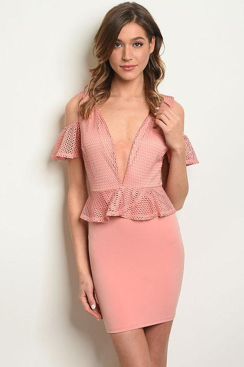 Womens Peplum Dress