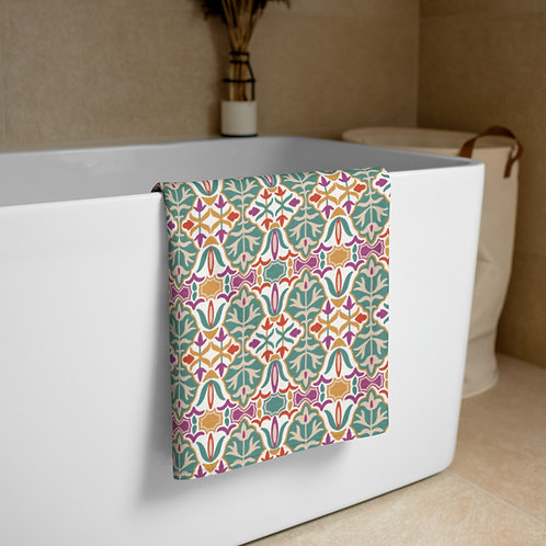 Indian Design #8 Towel