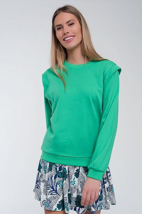 Boyfriend Sweatshirt With Shoulder Details
