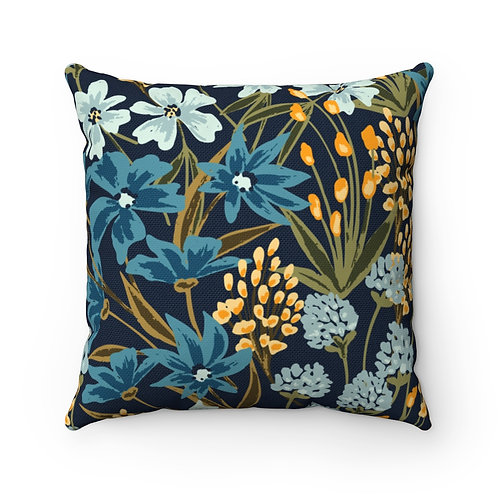 Gianna Spun Polyester Square Pillow