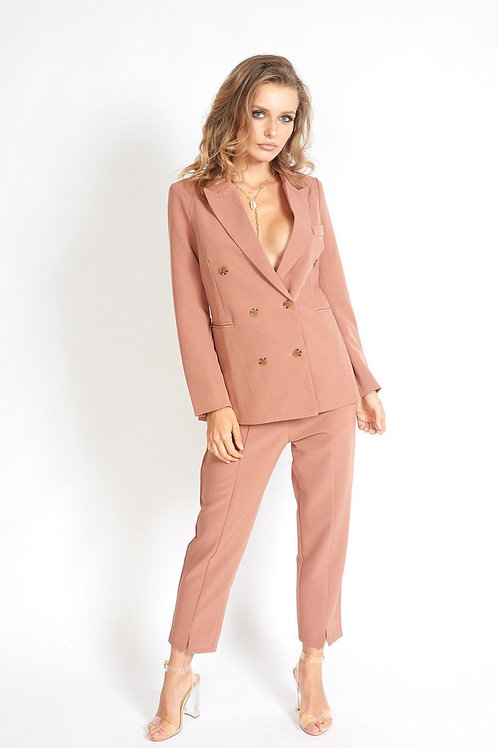 Business Babe 90s Fit Double Breasted Blazer