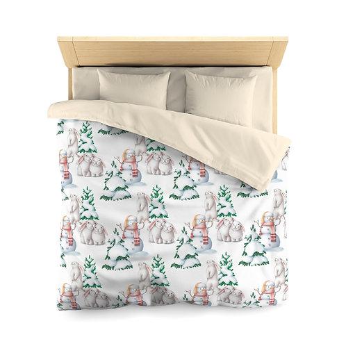 Holiday Microfiber Duvet Cover