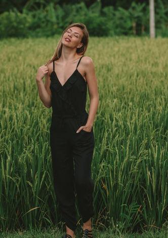 Chloe Jumpsuit - Black
