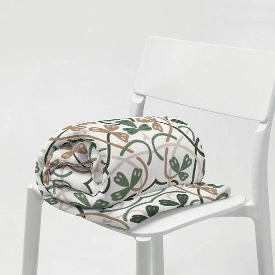 Celtic Design #1 Throw Blanket