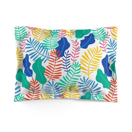Leaves of Color Microfiber Pillow Sham
