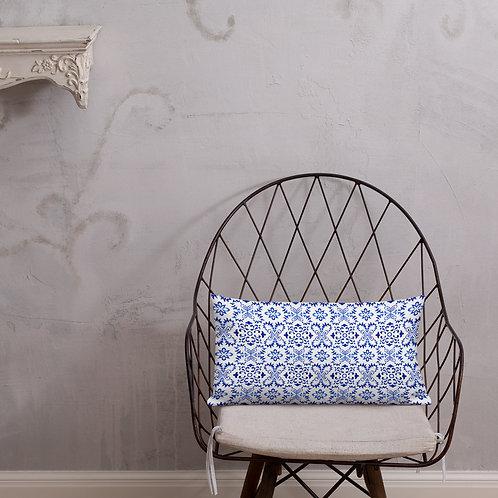 Italian Tile #260 Premium Pillow