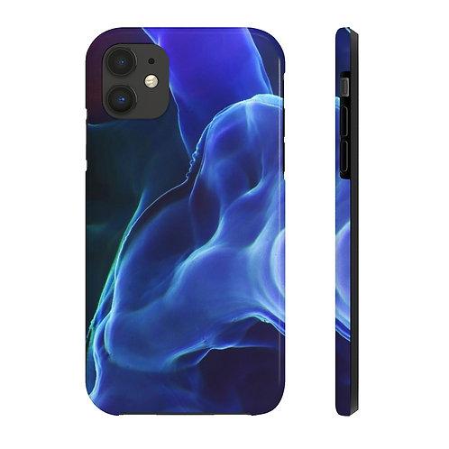 Magic Blue Smoke Case Mate Tough Phone Cases