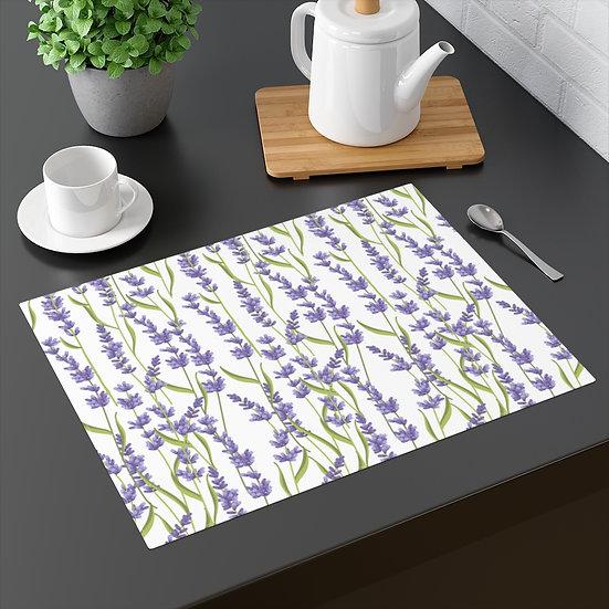 Lavender Floral Placemat