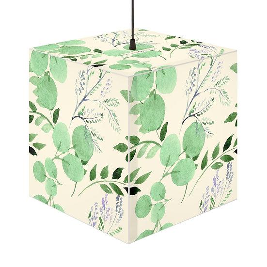 Green Foliage Personalized Lamp